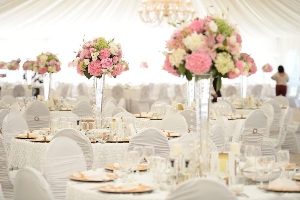 Ideas de decoración para el banquete de bodas
