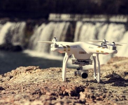 Incluye un dron en tu boda