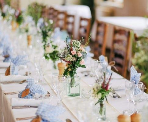 Programa de hostelería para el menú de boda