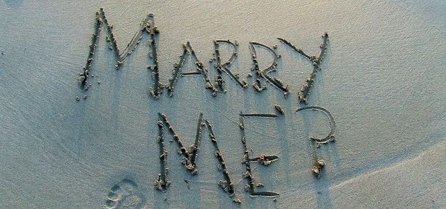 3 original wedding proposal ideas