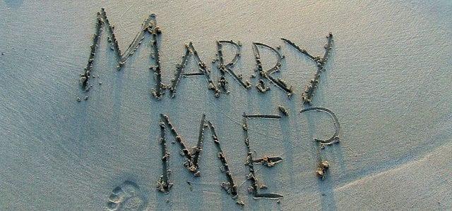 3 original wedding proposal ideas