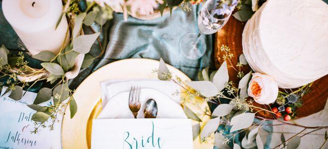 Tips para elegir un menú de boda