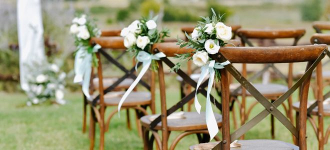 Cómo se organiza una boda al aire libre