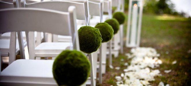 Cómo celebrar una boda al aire libre